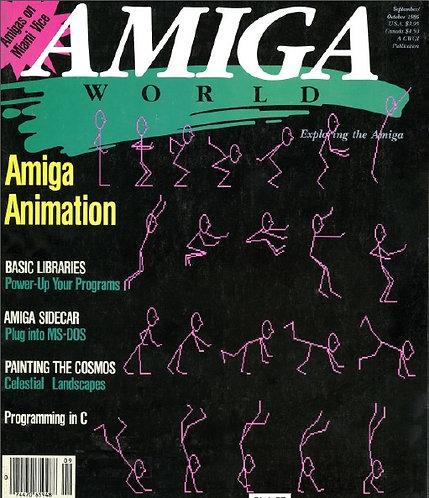 Amiga World Sept/Oct 1986