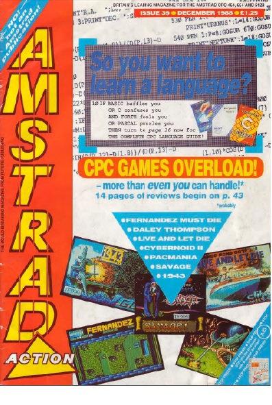 Amstrad Action Dec 1988