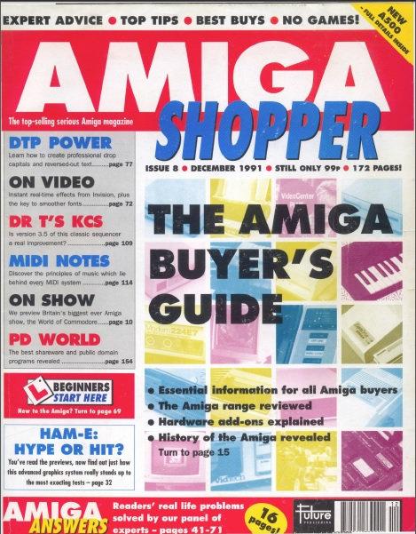 December 1991 Amiga Shopper