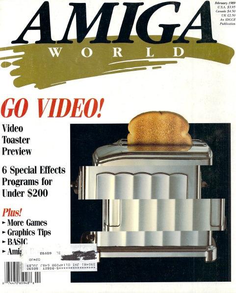Amiga World Feb 1989