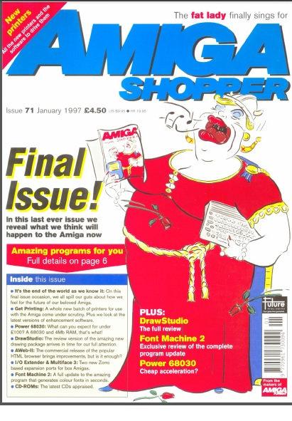 January 1997 Amiga Shopper