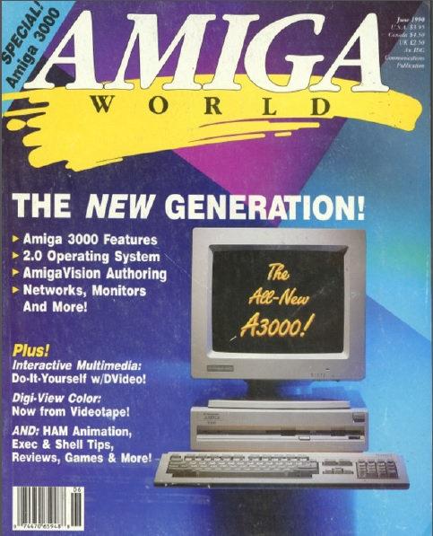 Amiga World June 1990