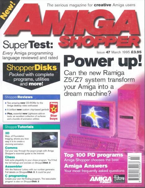 March 1995 Amiga Shopper