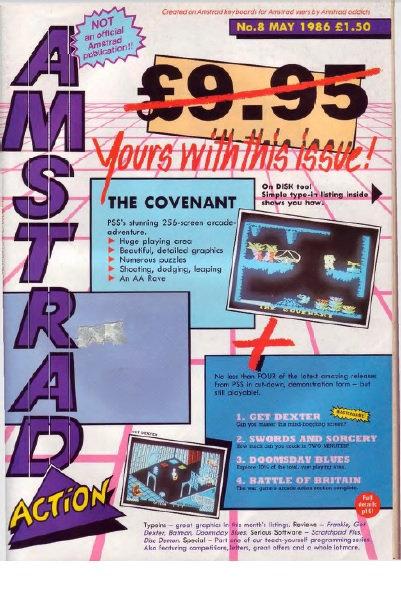 Amstrad Action May 1986