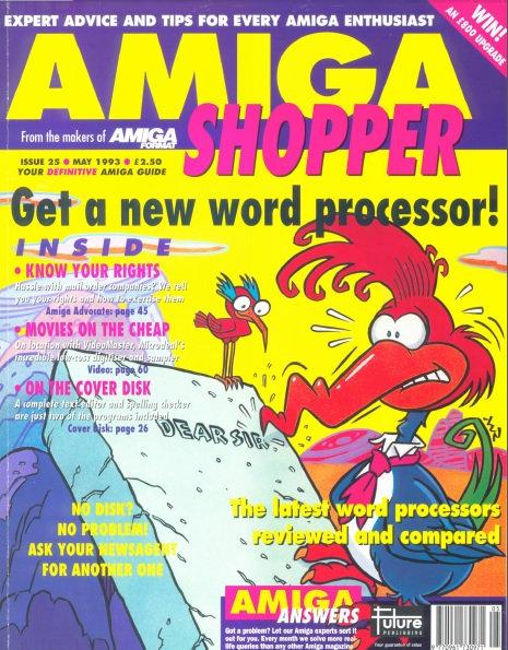 May 1993 Amiga Shopper