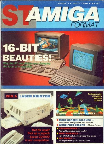 ST Amiga Format July 1988