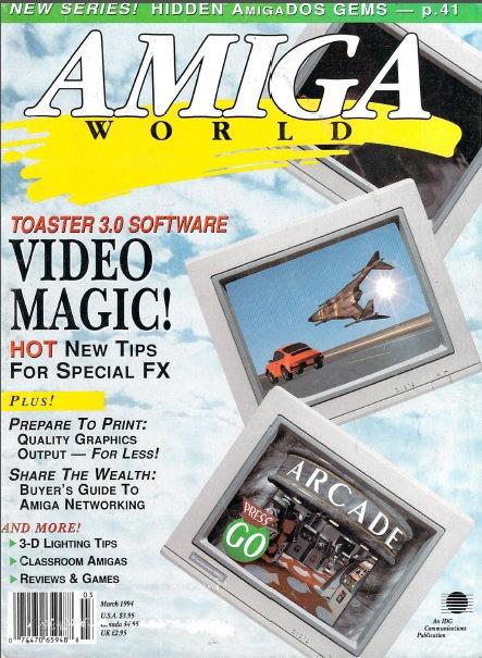 Amiga World Mar 1994