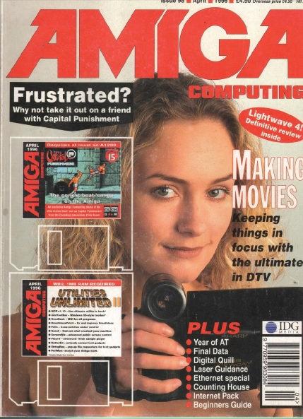 Amiga Computing April 1996