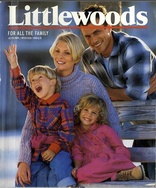 1994-1995 Littlewoods Autumn/Winter