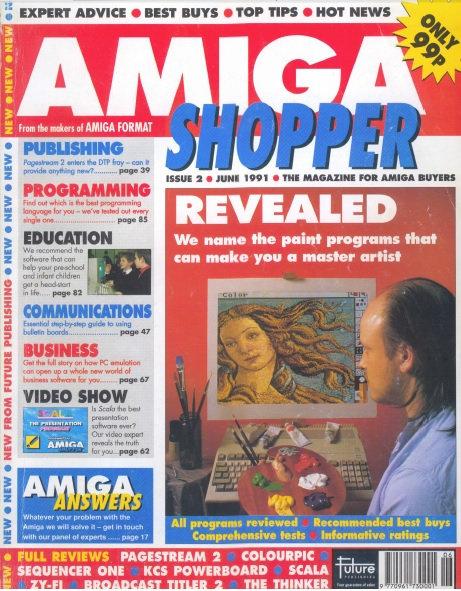 June 1991 Amiga Shopper