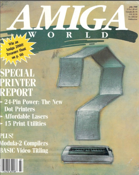Amiga World July 1988