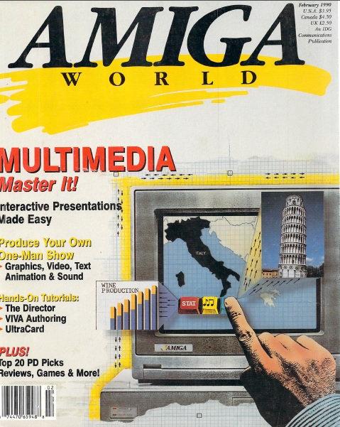 Amiga World Feb 1990