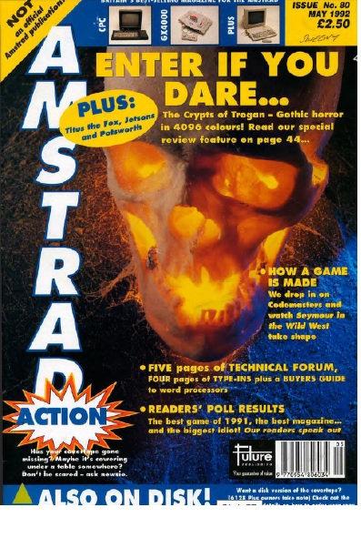 Amstrad Action May 1992