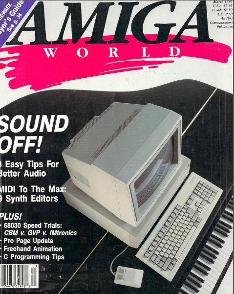 Amiga World Mar 1990