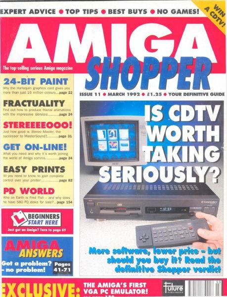 March 1992 Amiga Shopper