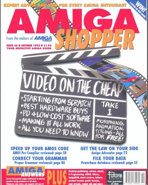 October 1993 Amiga Shopper