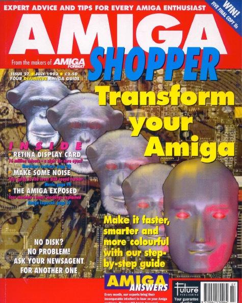 July 1993 Amiga Shopper