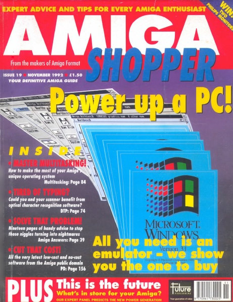 November 1992 Amiga Shopper