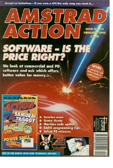 Amstrad Action Feb 1995