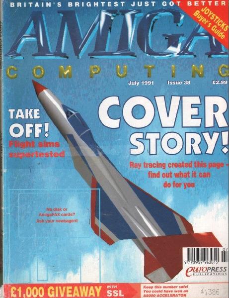 Amiga Computing July 1991
