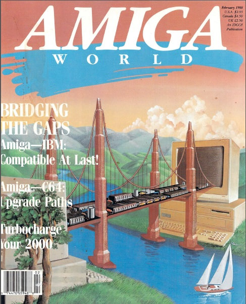 Amiga World Feb 1988