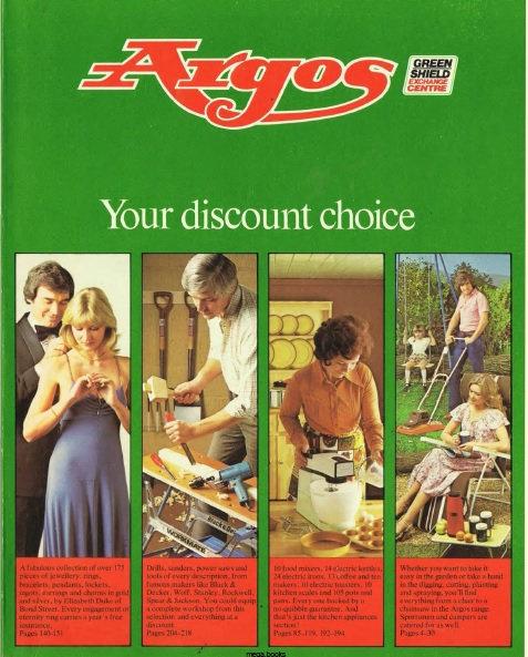 1979 Argos Spring/Summer
