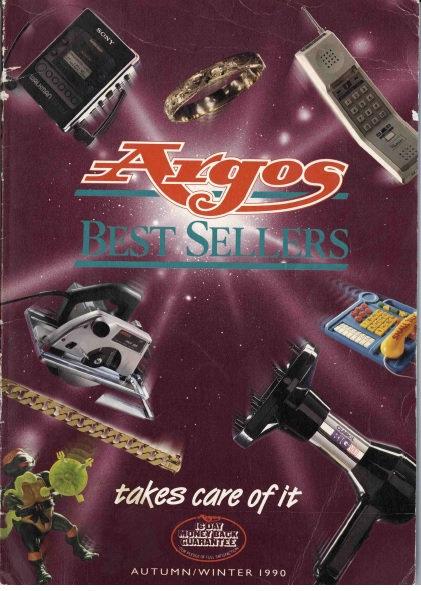 1990-1991 Argos Autumn/Winter
