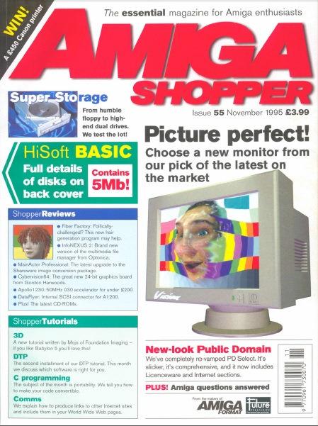 November 1995 Amiga Shopper
