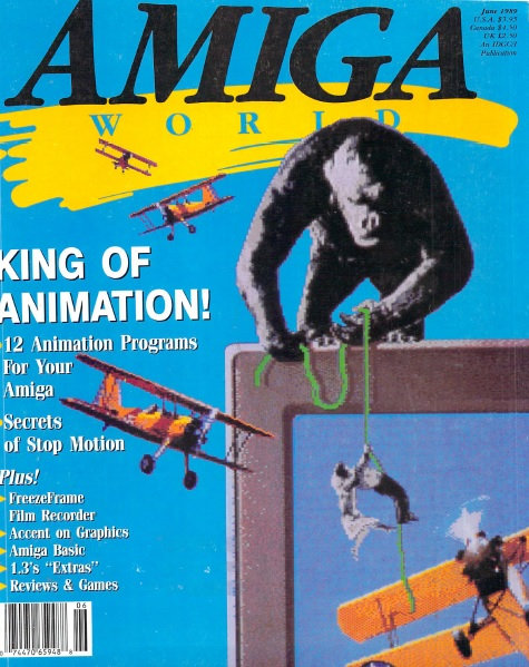 Amiga World June 1989