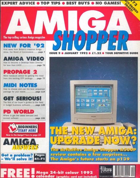 January 1992 Amiga Shopper