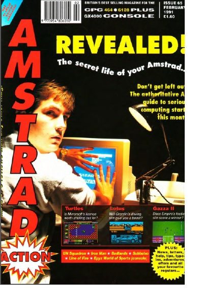 Amstrad Action Feb 1991