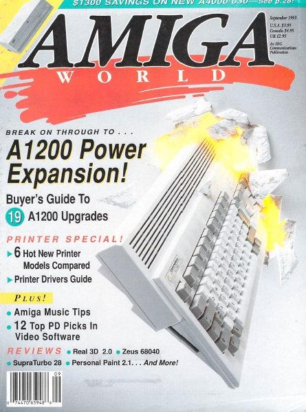 Amiga World Sep 1993