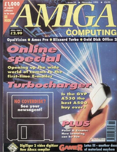 Amiga Computing Nov 1992