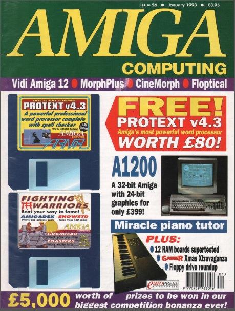 Amiga Computing Jan 1993