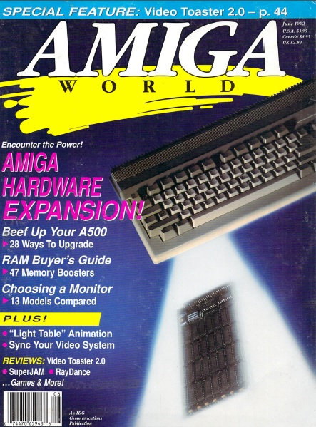 Amiga World June 1992