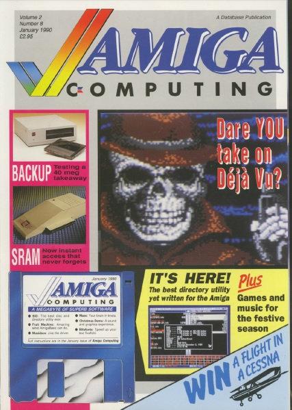 Amiga Computing Jan 1990