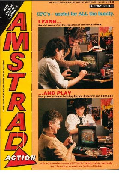 Amstrad Action May 1988