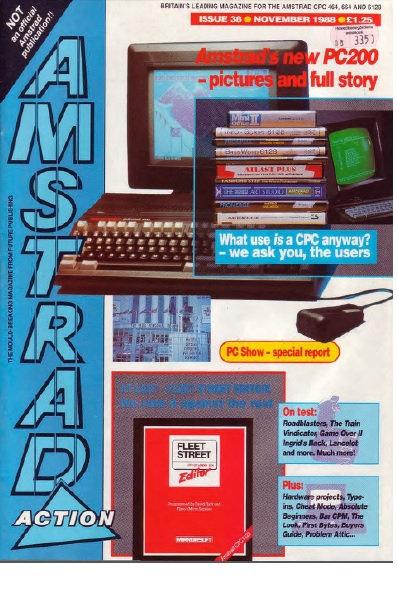 Amstrad Action Nov 1988
