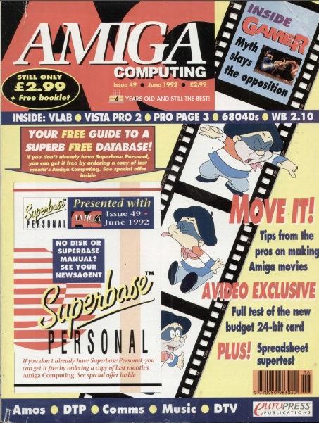 Amiga Computing June 1992