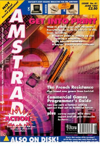 Amstrad Action June 1992