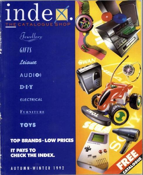 1992 Index Autumn/Winter