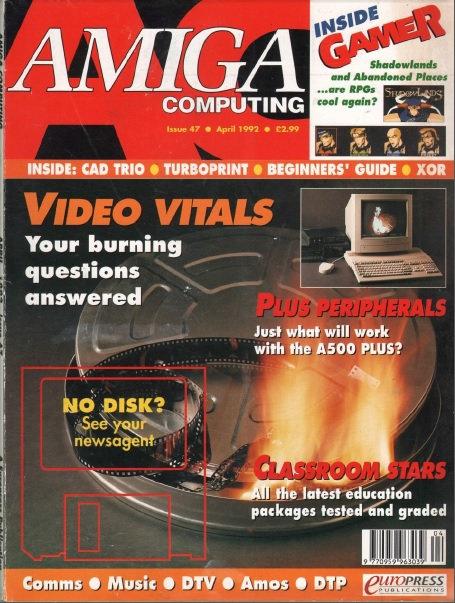 Amiga Computing April 1992