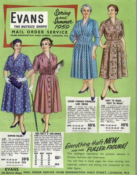 1959 Evans Spring/Summer
