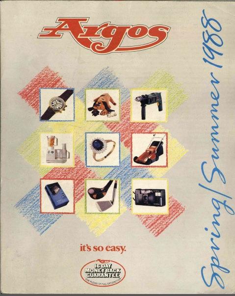 1988 Argos Spring/Summer