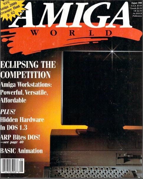 Amiga World Aug 1988