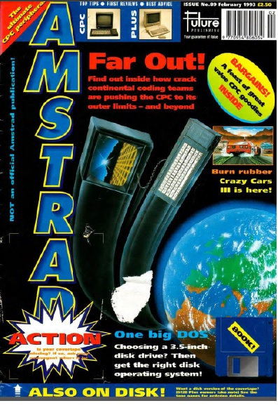 Amstrad Action Feb 1993