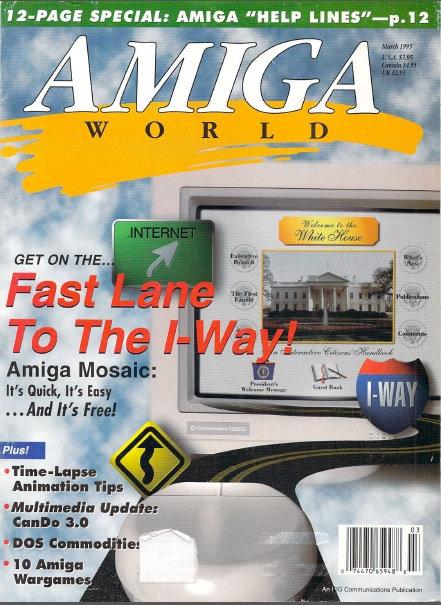 Amiga World Mar 1995