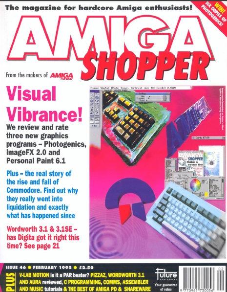 February 1995 Amiga Shopper