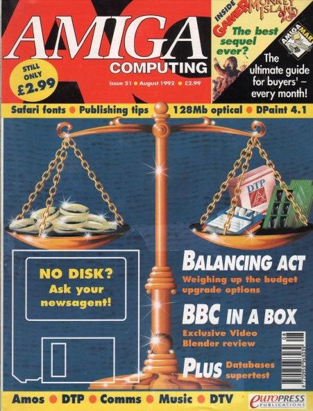 Amiga Computing Aug 1992