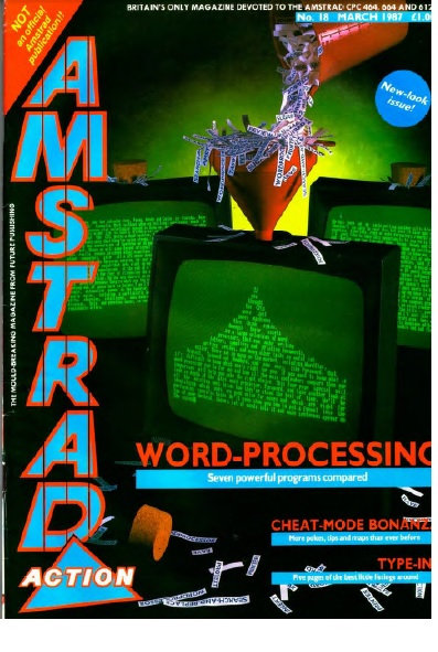 Amstrad Action March 1987